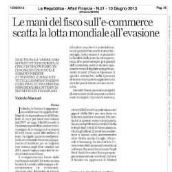 Le mani del fisco sull'e-commerce scatta la lotta mondiale all'evasione - La Repubblica