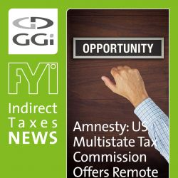 Amnesty: US Multistate Tax Commission Offers Remote Sellers an Opportunity